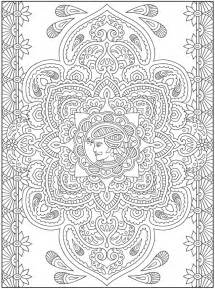 Henna page colouring pages
