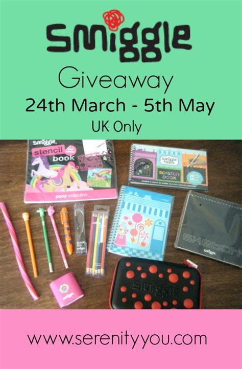 Giveaways Uk - smiggle kids stationary giveaway uk ends 5th may serenity you