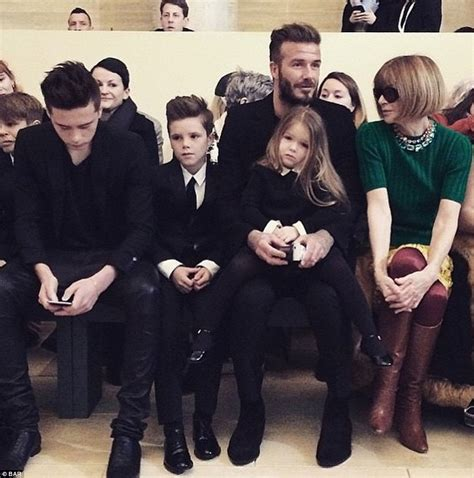 Beckham And To Design Childrens Line by Beckham S New York Fashion Week Collection Hailed