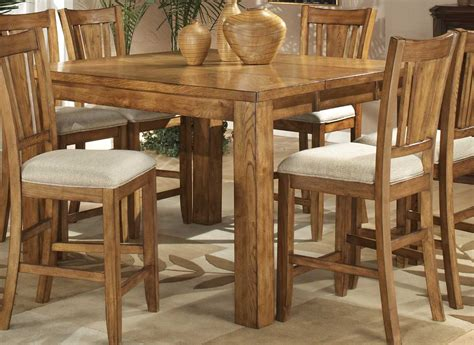 furniture long kitchen tables set and yellow long narrow homelegance fusion counter height table light oak 986n 36