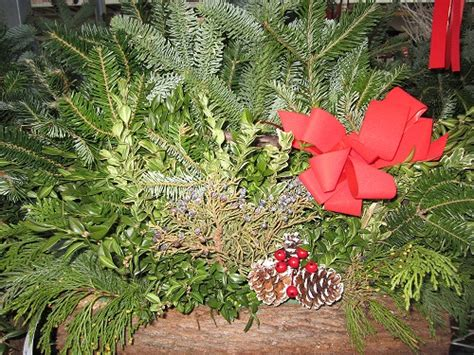 outdoor christmas evergreen decorations the home depot