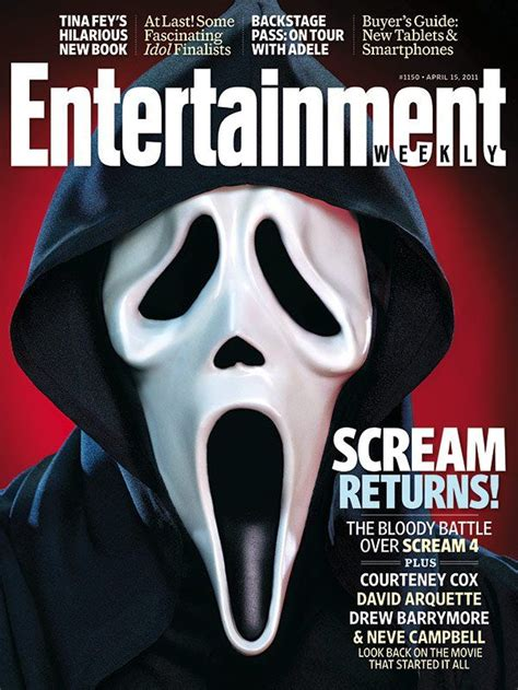 scream books 3 new from scream 4 and ghostface graces the cover