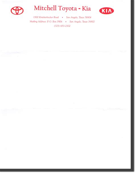 Business Letter Format Letterhead Sle Business Letterhead Sle Business Letter