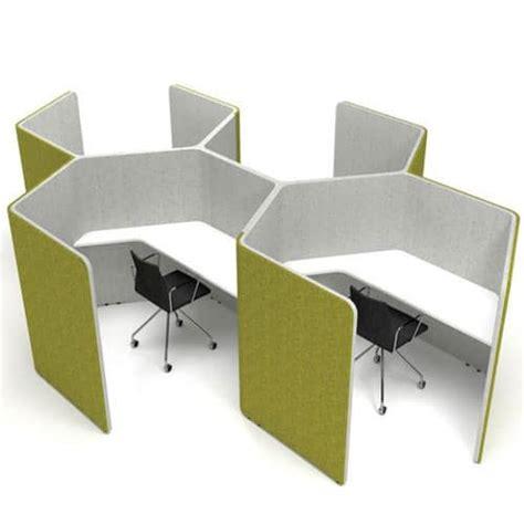 Office Desk Pods Den Honeycomb Workpods Wave Office Ltd