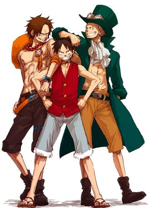 Komik Luffy ace luffy sabo one i m the one who pin