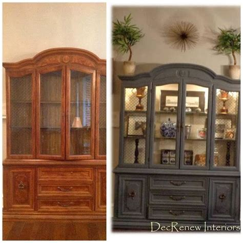 25  best ideas about China Cabinet Painted on Pinterest   Painted china hutch, Refinished china