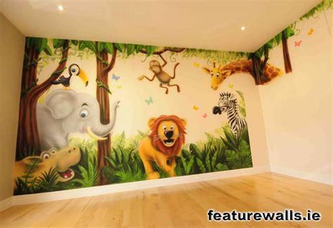 jungle murals  nursery thenurseries