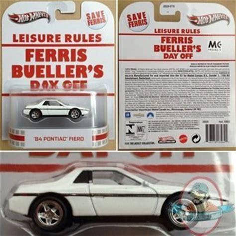 Hotwheels 1 64 Pop Secret 84 Pontiac Grand Prix 1 64 scale wheels retro ferris bueller s day 84 pontiac fiero of figures