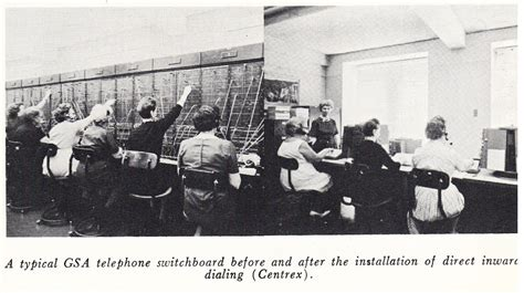 Switchboard Lookup Throwback Thursday Gsa S Telephone Switchboard 187 The Gsa