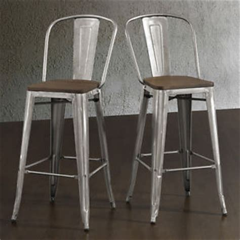 kitchen counter height bar stools rustic bar stools set of 2 industrial wood metal kitchen
