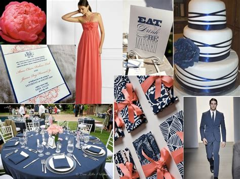 navy blue and coral wedding navy and coral kimen navy and coral plus whimiscal