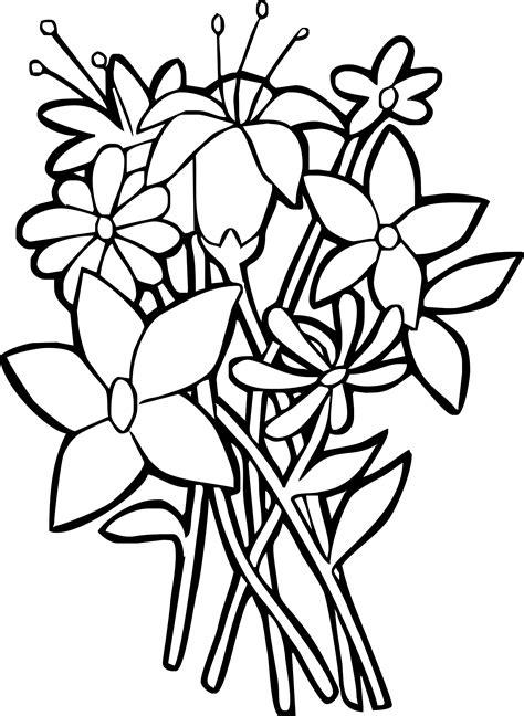 disegni di piante e fiori piante e fiori da colorare disegni da colorare per