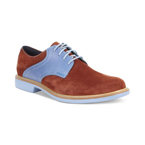 saddle oxford shoes cole haan great jones saddle oxfords in blue for