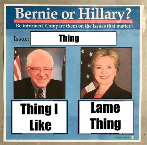 Bernie Vs Hillary Memes - the bernie vs hillary meme is weird ceaseless and kind of sexist just like the 2016 caign