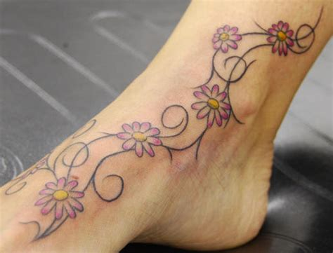 small flower vine tattoos araleh vine tattoos
