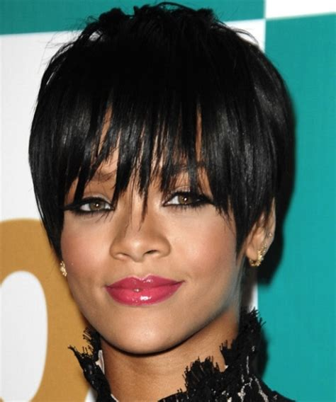 african american pixie hairstyles for a round face african american black pixie haircut with long bangs