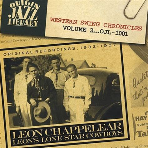best country swing songs western swing chronicles vol 2 leon chappel songs