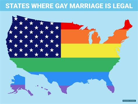 marriage map this map sums up today s historic supreme court ruling business insider