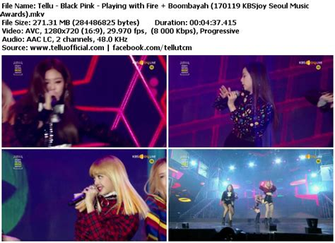 blackpink k2nblog download perf black pink playing with fire boombayah