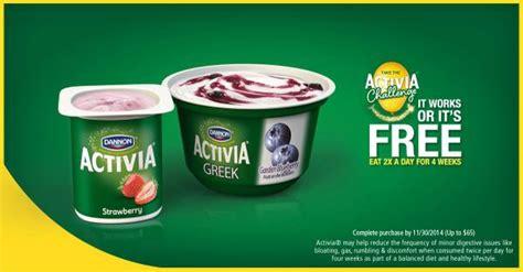 activa challenge activia yogurt activia