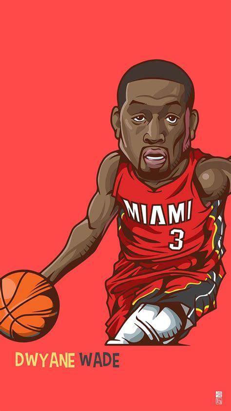 wallpaper cartoon basketball download dwyane wade 1080 x 1920 wallpapers 4465696