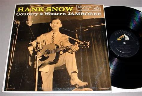 Wedding Bells Hank Snow by Hank Snow Lp Autographed Rca Lpm419 Country Western