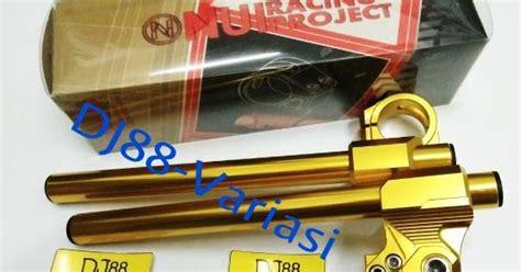 Stang Jepit 250 Karbu 20 Fi Z250 Probikers dj88 variasi toko aksesories terlengkap dan terpercaya se indonesia gold series stang jepit nui