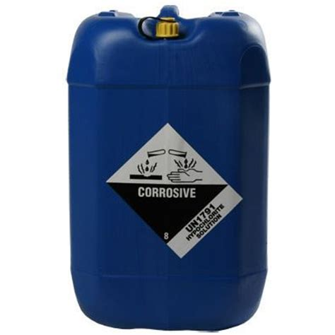 sodium hypochlorite solution carboy 5 gal liquid chlorine