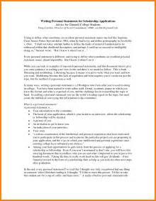 Sample Personal Essay For College Application 5 Sample Personal Statement Format Statement Information