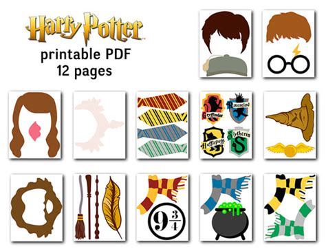 printable harry potter photo booth props printable harry potter photo booth props harry potter