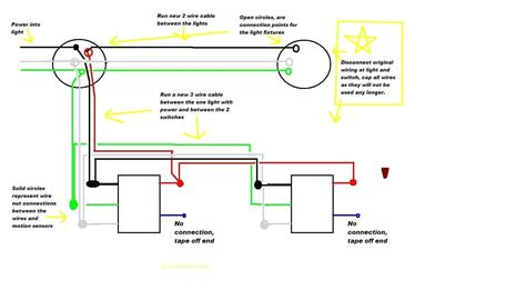 cooper motion light wiring diagram wire center  god security light wiring diagram