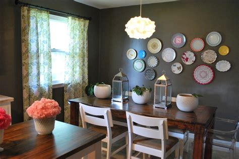 decorating ideas for dining room walls dream house terrific decorative charger plates ideas decorating ideas