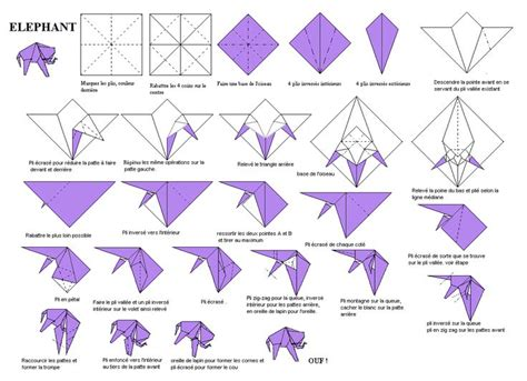 How To Make Your Own Origami Designs - best 25 origami elephant ideas on origami and
