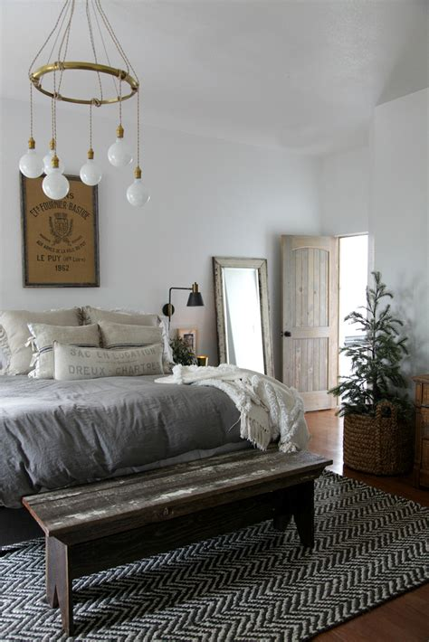 farmhouse bedroom modern farmhouse bedroom simple christmas jeanne oliver