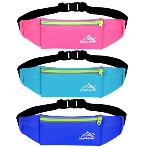 Waise Bag Mobile Phone Tas Pinggang Running unisex running waist bags pack waist belt pouch bag mobile phone pocket purse cing