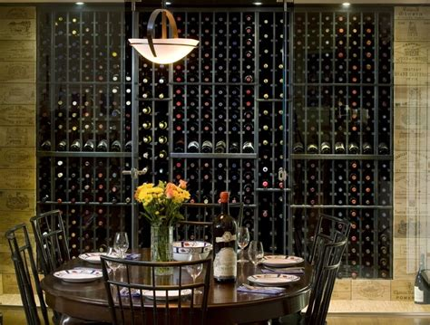 Wine Cellar Dining Room by Wine Cellar In Dining Room Home