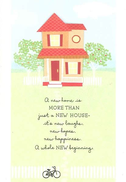 New House Congratulations by Hopes Happiness New Home Congratulations Card Greeting