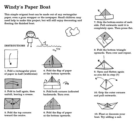 how do u make a paper boat windy s old blog july 2011