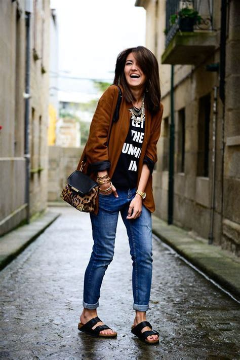 Style On The Go 2 by 20 Style Tips On How To Wear Birkenstocks For Fall