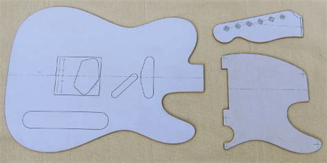 electric guitar templates make a guitar template