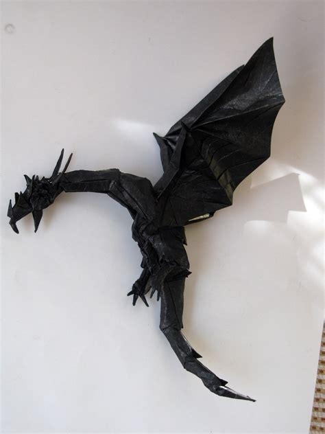 Origami Wyvern - get fired up for these origami dragons