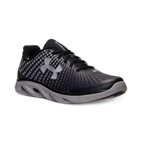 armour sneakers mens armour s spine clutchfit running sneakers from