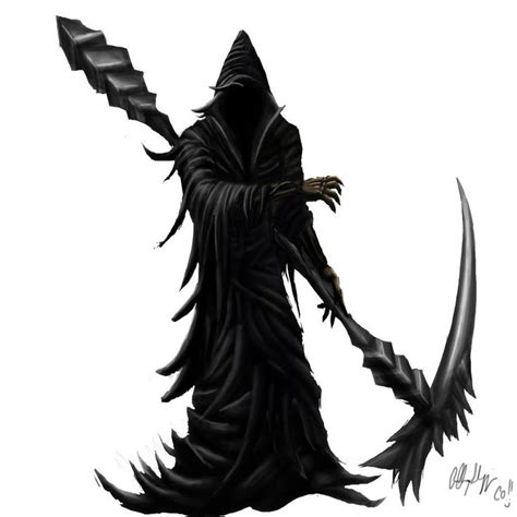 full body grim reaper tattoo grim reaper full body google search grim skeltr lich
