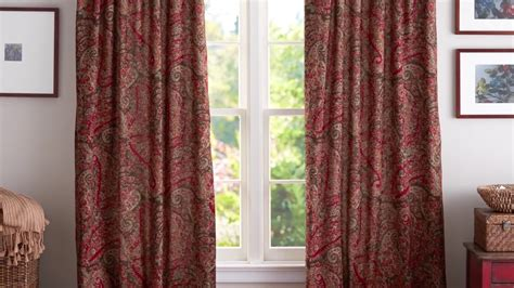 how to hang drapes how to hang curtains pottery barn