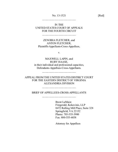 Appellate Brief Briefformat Sle Appellate Brief Curtilage Nature Of Uses