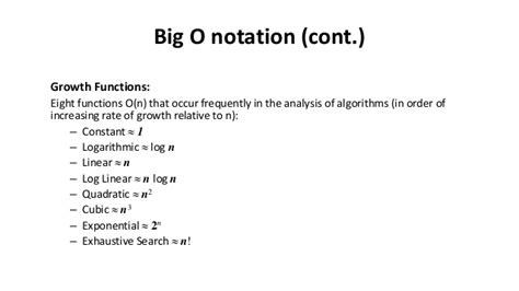 The Worst Occur In Linear Search Algorithm When 9 Big O Notation