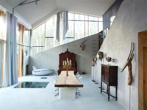 minimalistisches wohnzimmer hillside house das moderne energieeffizienzhaus