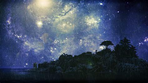 Starry D a rainy and starry by vincentcamacho on deviantart