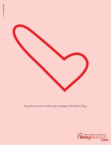 valentines day races 40 clever creative s day ads hongkiat