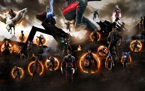 avengers endgame artwork characters
